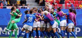 Mondiali calcio donne 2019, incredibile Italia: battuta l'Australia all'esordio al 95°