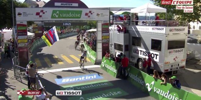 Giro di Svizzera 2019, Sagan di potenza davanti a Viviani