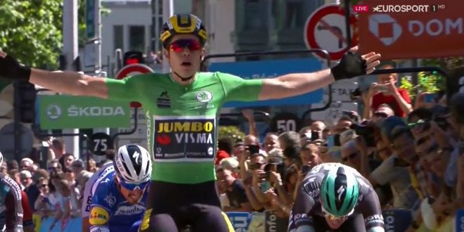 Giro del Delfinato 2019, Van Aert concede il bis