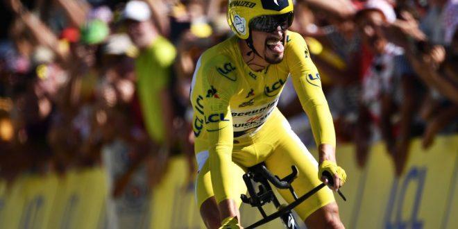 Tour de France 2019, straordinario Alaphilippe a Pau