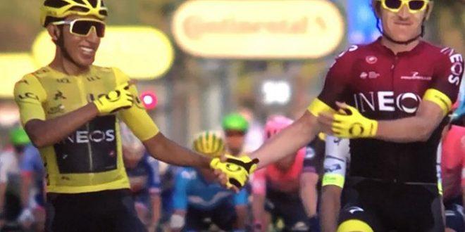 Egan Bernal in trionfo al Tour de France 2019. Ewan tris sui Campi Elisi