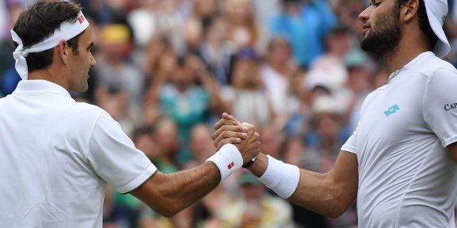 Wimbledon 2019, Federer pone fine al sogno Berrettini