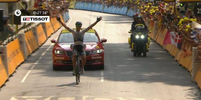 Tour de France 2019, Trentin a braccia alzate: a Gap arriva il secondo acuto italiano