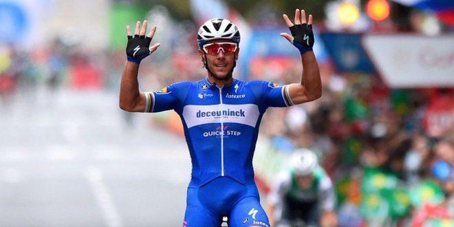 Vuelta a Espana 2019, sigillo di Gilbert