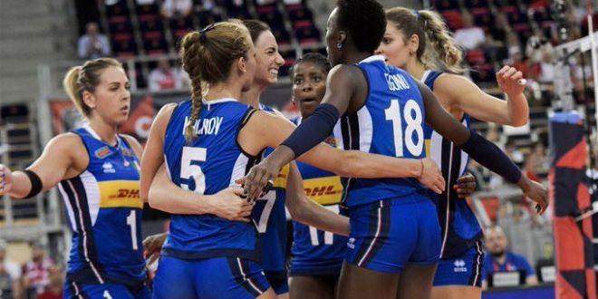 Eurovolley donne 2019, Italia in semifinale: sconfitta la temibile Russia