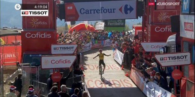 Vuelta a Espana 2019, Jumbo-Visma dominante: vince Kuss, controlla Roglic