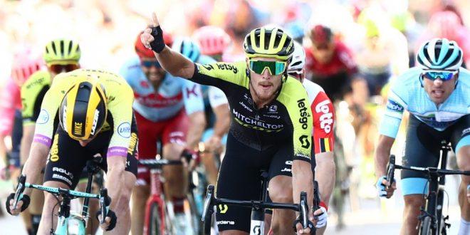 Tour of Britain 2019, Trentin vince e passa al comando