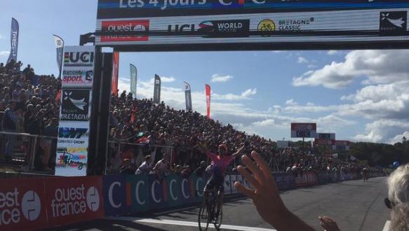 Bretagne Classic 2019, esulta Vanmarcke