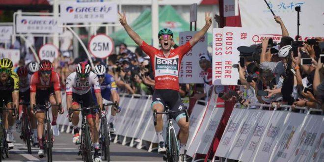 Tour of Guangxi 2019, Ackermann stavolta non sbaglia