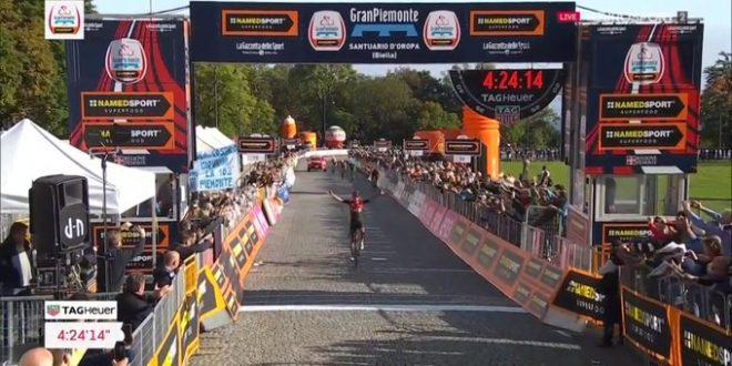 Gran Piemonte 2019, Bernal in trionfo ad Oropa