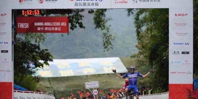 Tour of Guangxi 2019, a Mas la tappa regina. Terzo Rosa