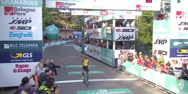 Giro dell'Emilia 2019, Roglic trionfa sul San Luca