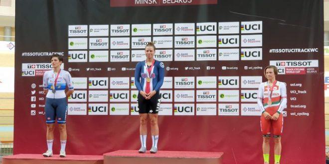 CDM Pista, a Minsk pioggia di medaglie azzurre: quartetti di bronzo
