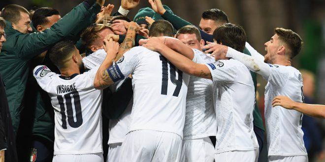 Nazionale, siamo a quota 10: Italia batte Bosnia 3-0