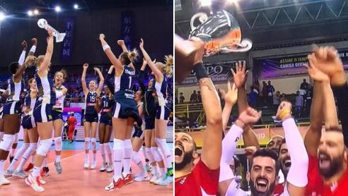 Volley, Civitanova e Conegliano campioni del mondo