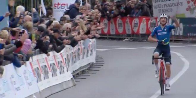 Trofeo Laigueglia 2020, Ciccone in trionfo