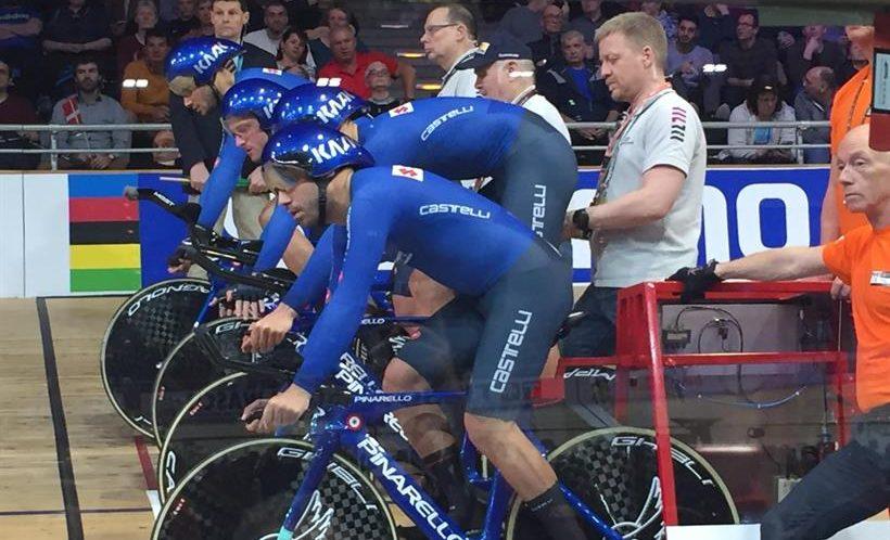 Mondiali pista 2020: quartetto azzurro da urlo a Berlino