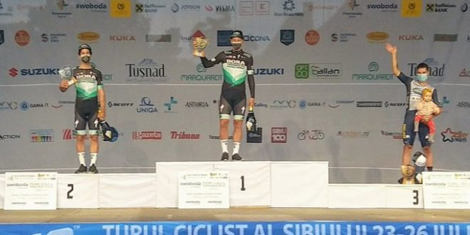 Sibiu Tour 2020, dominio totale Bora-Hansgrohe: corsa a Muhlberger