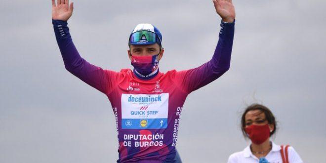 Vuelta a Burgos 2020 a Evenepoel. Ultima a Sosa