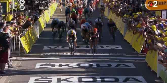 Tour de France 2020, zampata di Ewan a Sisteron
