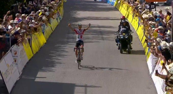 Giro del Delfinato 2020, Formolo firma l'impresa solitaria