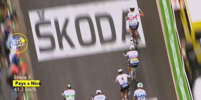 Tour de France 2020, Kristoff prima maglia gialla