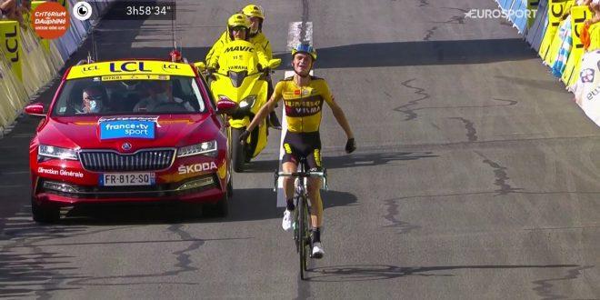 Giro del Delfinato 2020, ultima tappa a Kuss. Ritiro Roglic, vittoria finale a Martinez