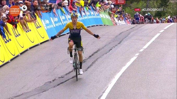 Giro del Delfinato 2020, ancora Jumbo-Visma: Roglic vince sul Col de Porte