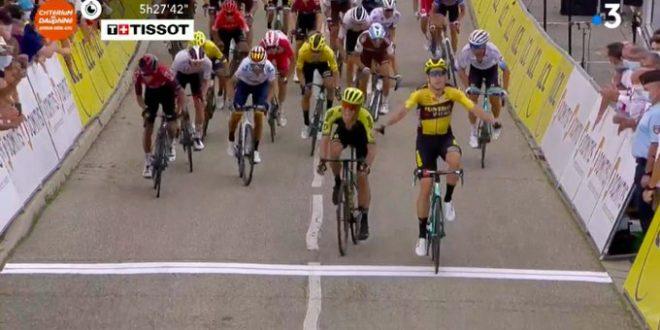 Giro del Delfinato 2020, Van Aert scatenato