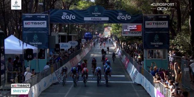 Tirreno-Adriatico 2020, Ackermann concede il bis a Follonica