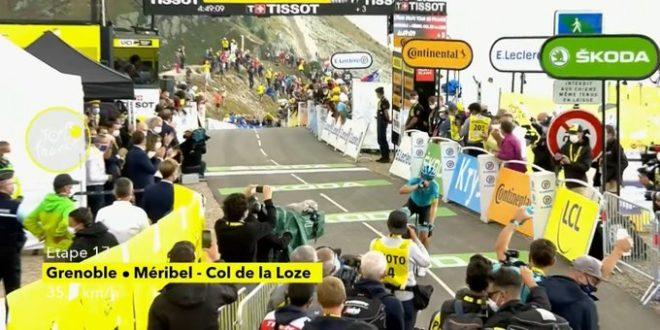 Tour de France 2020, Lopez in solitaria a Meribel. Roglic sempre più in giallo, Bernal si ritira