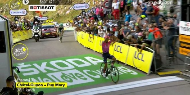Tour de France 2020, Martinez doma il Puy Mary. Roglic solido, paga Bernal