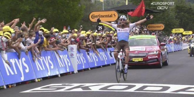 Tour de France 2020, Peters festeggia a Loudenvielle nel giorno di Yates in giallo e di Pinot in crisi