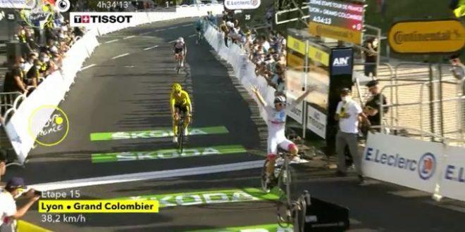 Tour de France 2020, Pogacar su Roglic a Grand Colombier. Bernal abdica