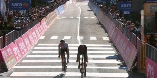 Giro d'Italia 2020, Sestriere-thriller: Geoghegan Hart go, Hindley maglia rosa a pari tempo!