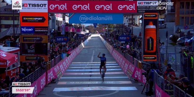 Giro d'Italia 2020, O'Connor si riscatta: è il re di Madonna di Campiglio