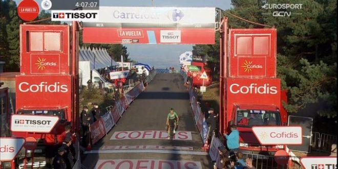 La Vuelta 2020, Roglic si impone sull'Alto de Moncalvillo