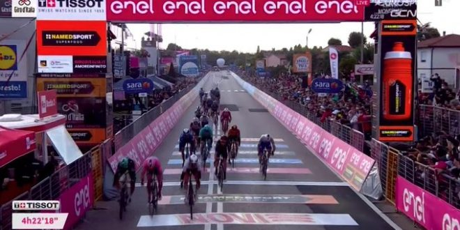 Giro d'Italia 2020, Ulissi concede il bis a Monselice