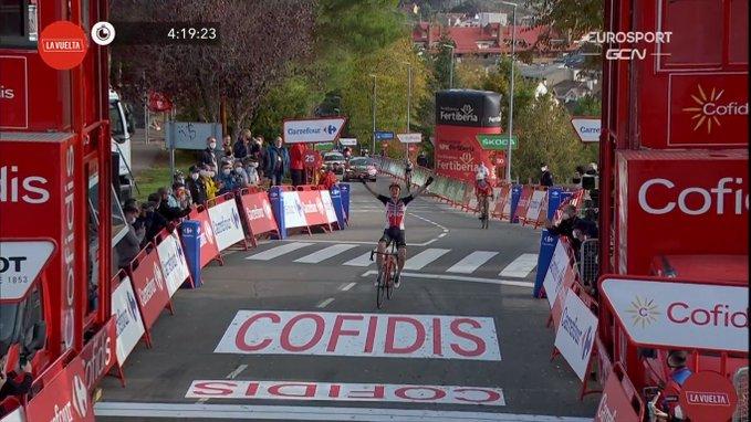 La Vuelta 2020, a Sabiñanigo vince Wellens