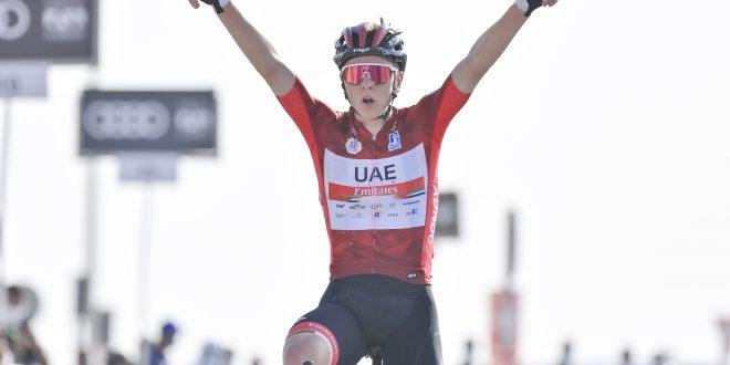 UAE Tour 2021, Pogacar domina in salita