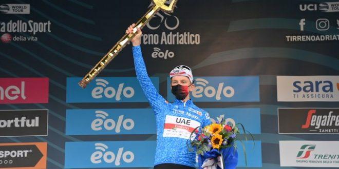 Tirreno-Adriatico 2021, tutte le classifiche finali