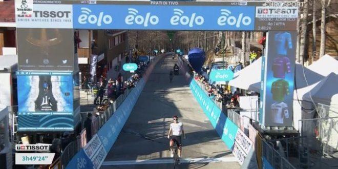Pogacar ribalta la Tirreno-Adriatico 2021: tappa e maglia azzurra a Prati di Tivo