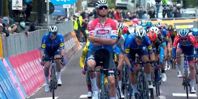 Tirreno-Adriatico 2021, a Gualdo Tadino è la volta di Van Der Poel