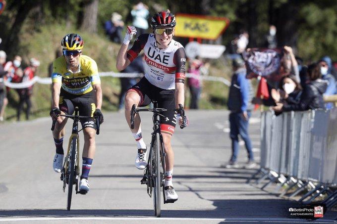 Giro dei Paesi Baschi 2021, è già dominio sloveno: Pogacar precede Roglic