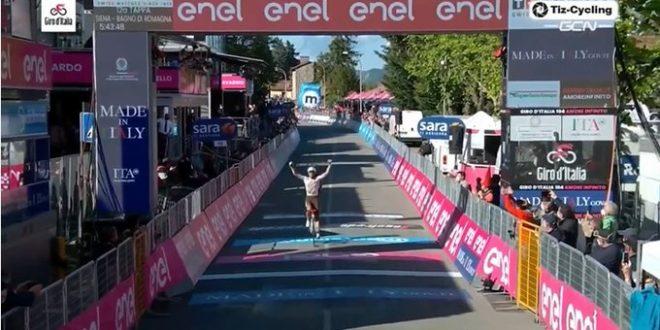Giro d'Italia 2021, è il giorno di Vendrame