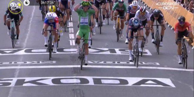 Tour de France 2021, Cavendish concede il bis a Chateauroux