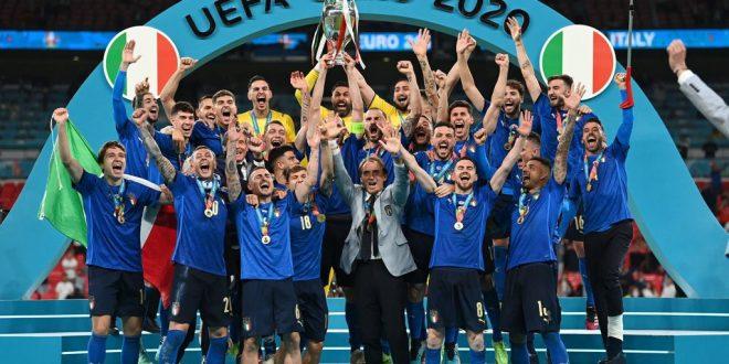 Wembley è azzurra, Italia campione d'Europa!