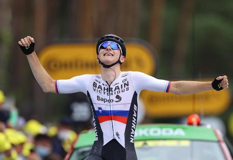 Tour de France 2021, assolo di Mohoric a Libourne