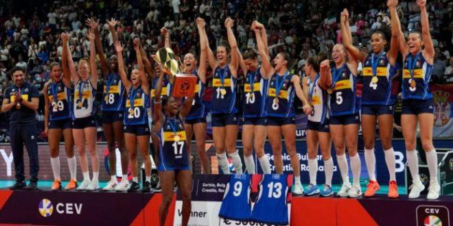 Eurovolley 2021, fantastica Italia: Serbia umiliata, è oro!