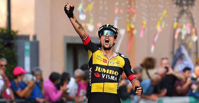 Giro dell'Emilia 2021, Roglic di nuovo re sul San Luca